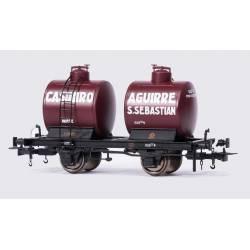 Vagón cisterna bicuba, Casimiro Aguirre.