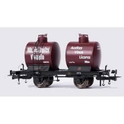 Vagón cisterna bicuba, Timoteo Vivando. OMNIBUS MODELS 41101