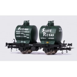 Vagón cisterna bicuba, Sainz Rozas.