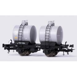 Vagón cisterna bicuba, RENFE.