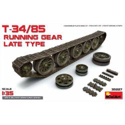 T-34/85 running gear, late type. MINIART 35227