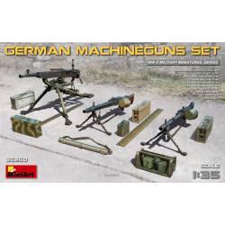 German machinegun set. MINIART 35250