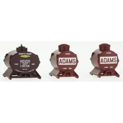 Tank container set, Adams & Simotra. REE MODELES XB-038