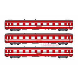 Le Capitole: 3-coaches set, SNCF. With light.