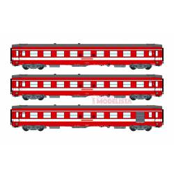 Le Capitole: 3-coaches set, SNCF. With light. REE VB-119