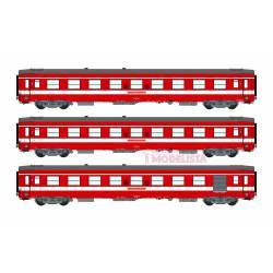 Le Capitole: 3-coaches set, SNCF. With light. REE VB-119