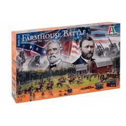 Batalla de la Granja, Guerra Civil Americana. ITALERI 6179