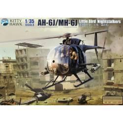"AH-6J/MH-6J, ""Little Bird"". KITTY HAWK 50003"