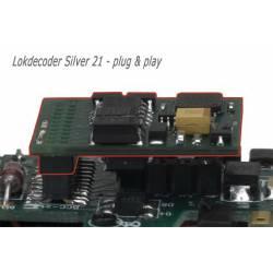 Decoder Silver 21 pins. LENZ 10321