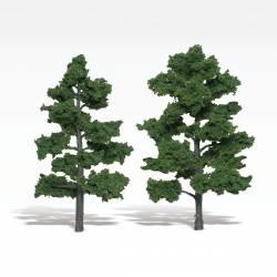 2 árboles, verde medio. WOODLAND TR1516