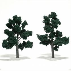 2 árboles, verde oscuro. WOODLAND TR1514
