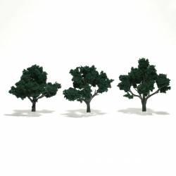 Trees dark green. WOODLAND TR1508