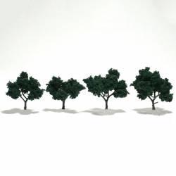 4 árboles, verde oscuro. WOODLAND TR1505
