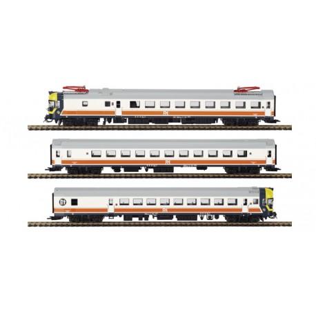 Electric railcar UT432, RENFE Regionales. MABAR 84325S
