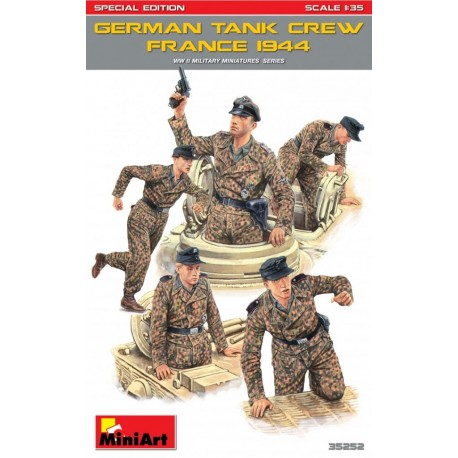 German tank crew (France 1944). MINIART 35252