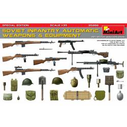 Soviet infantry automatic weapons. MINIART 35268