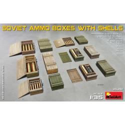 Cajas de munición soviéticas.