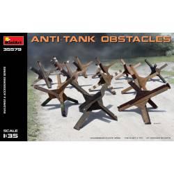 Obstáculos antitanque. MINIART 35579