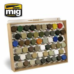 Stand para pinturas Tamiya/Mr Color. AMIG 8014