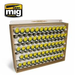 17 ml. Ammo, Vallejo storage system. AMIG 8005