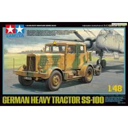 Tractor alemán SS-100. TAMIYA 32593