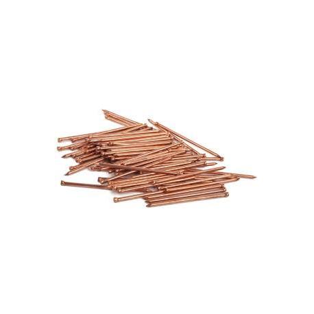 Clavos de cobre, 10 mm. COREL C-154