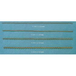 Cadena de latón, 1,5 mm. COREL C-210