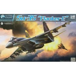 """Sukhoi Su-35, """"Flanker-E"""". KITTY HAWK 80142"""