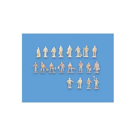 20 viajeros y trabajadores. MODEL SCENE 5156