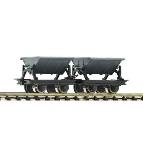 Two-unit tipping truck set. ROCO 34600