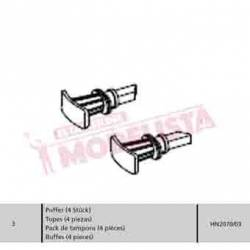 Buffer set (x4). RENFE 353. HN2070/03