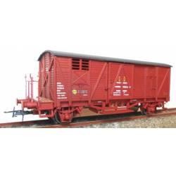 Closed wagon RENFE , J-303808.