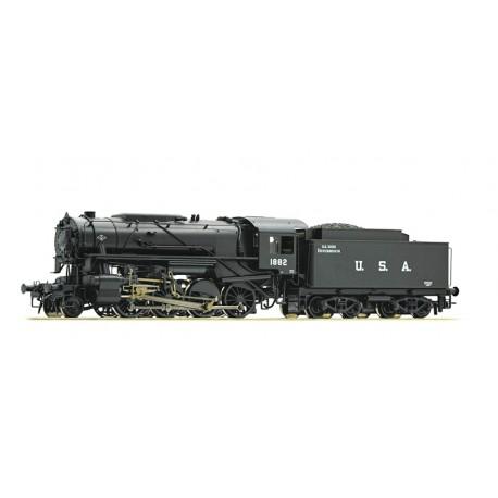 Steam locomotive S 160, USATC. ROCO 72152