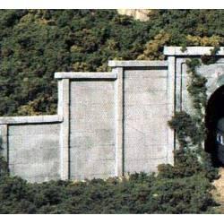 Concrete walls.