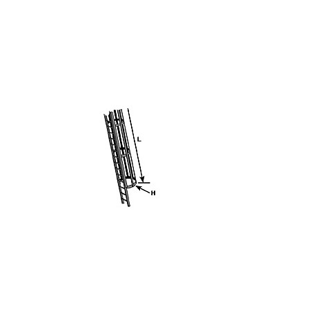 Safety cage and ladder set. PLASTRUCT 90431