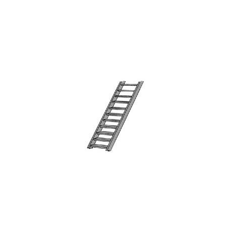 Styrene ladder, 2,4 mm. PLASTRUCT 90441