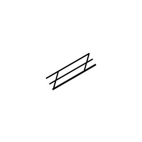 Stair rail, 11,1 mm. PLASTRUCT 90481