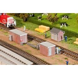 3 Brick Transformer stations. FALLER 120239