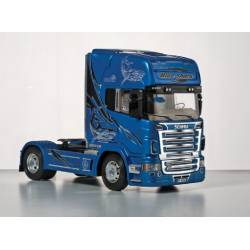 "Scania R620 ""Blue Shark"". ITALERI 3873"