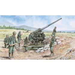 Italian 90/53 gun with crew. ITALERI 6122