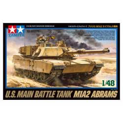 M1A2 Abrams. TAMIYA 32592