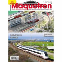 Revista Maquetren, nº 302. Extra 100 páginas