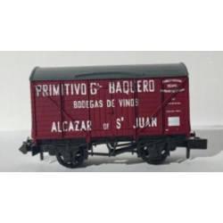 """Primitivo Gª Baquero"" box wagon. PECO NR-P943"
