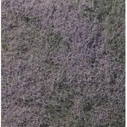 Flocado de flores moradas. WOODLAND F177