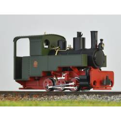 Decauville steam loco, green. MINITRAINS 1081