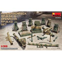 Panzerschreck RPzB .54 and ofenrohr RPzB .43. MINIART 35263