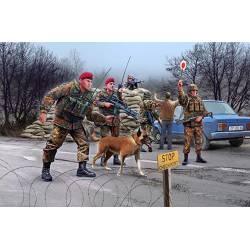Unidad Especial de Fuerzas Armadas alemanas. REVELL 02522