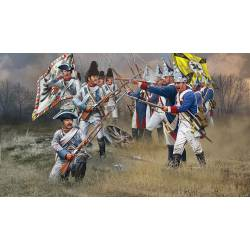 Austrian and Prussian infantry. REVELL 02452
