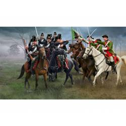 Austrian Dragoons and Prussian Hussars. REVELL 02453