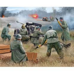 Cañón de 7,5 cm PaK 40 y soldados. REVELL 02531